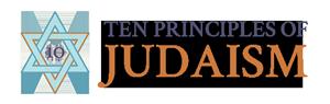 10 Principles of Judaism Logo